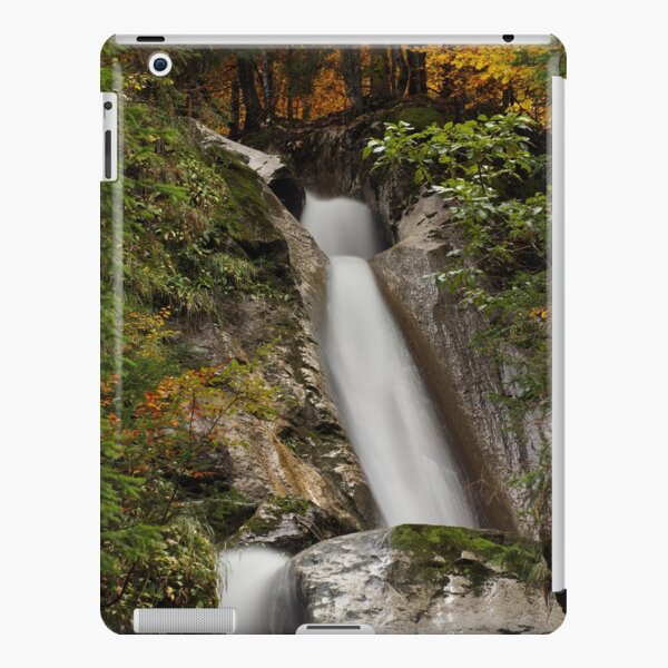 Diomaz waterfall in autumn iPad Snap Case