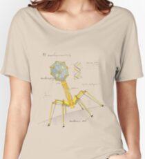 Camiseta ancha para mujer Mechanovirus T1