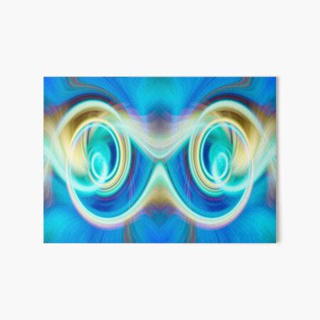 Maybe you see Owl eyes Art Board Print
