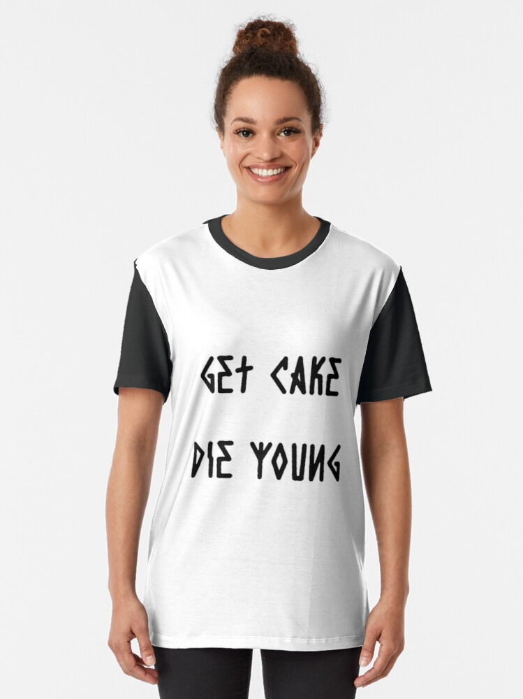 Get Cake Die Young Lil Peep T-Shirt Dress