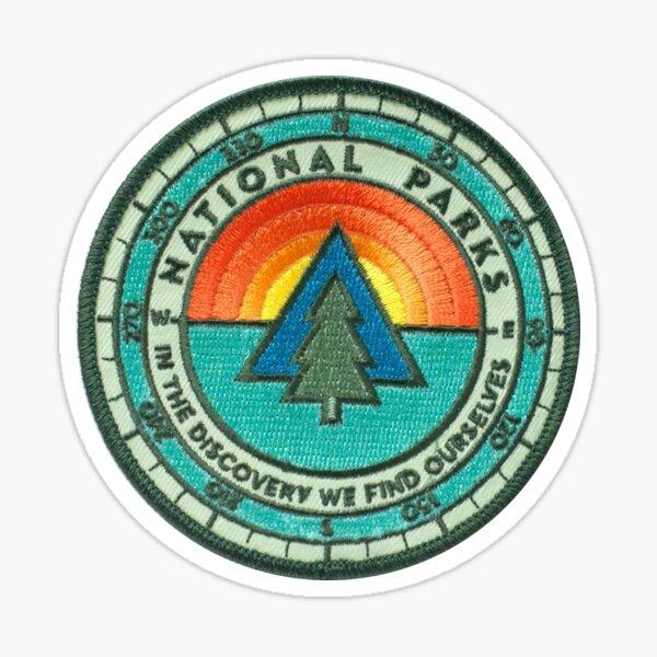 National Parks Patch Sticker