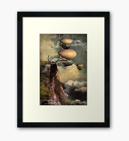 You couldn't wait for me Framed Print