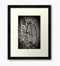 Penny Farthing - Monte Cristo Framed Print