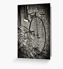 Penny Farthing - Monte Cristo Greeting Card