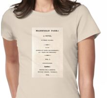 Mansfield Park Womens Fitted T-Shirt