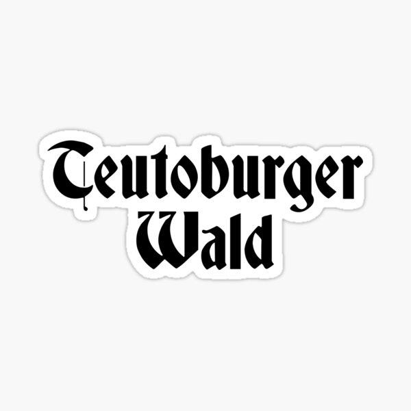 Teutoburger Wald Sticker