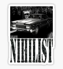 NIHILIST - LOYD & PARKER 50C Sticker