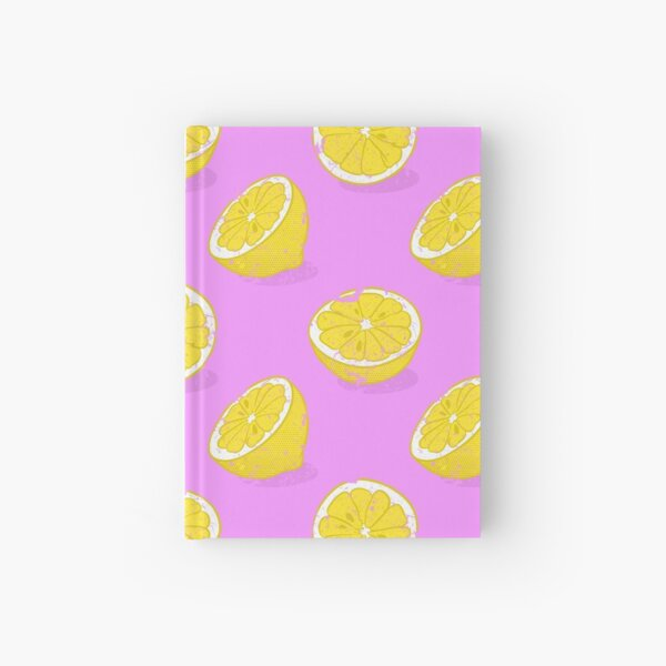 Lemon Hardcover Journal