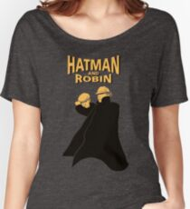 Hatman and Robin Women's Relaxed Fit T-Shirt