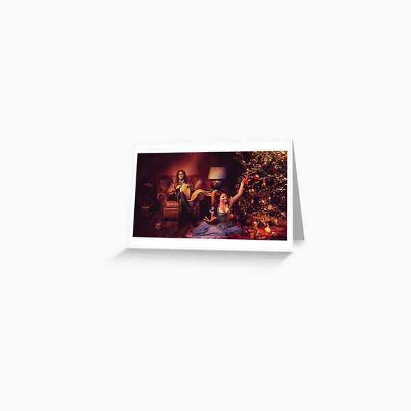 Christmas - Rumbelle Christmas  Greeting Card