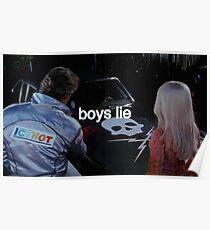 Boys Lie Poster