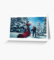 Christmas - Regina & Henry Greeting Card