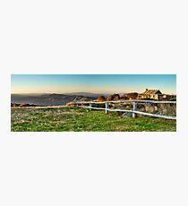 Craigs Hut Panoramic  Photographic Print