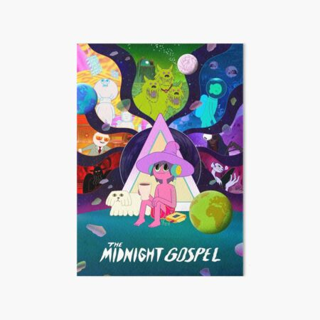 Midnight Gospel Art Board Print