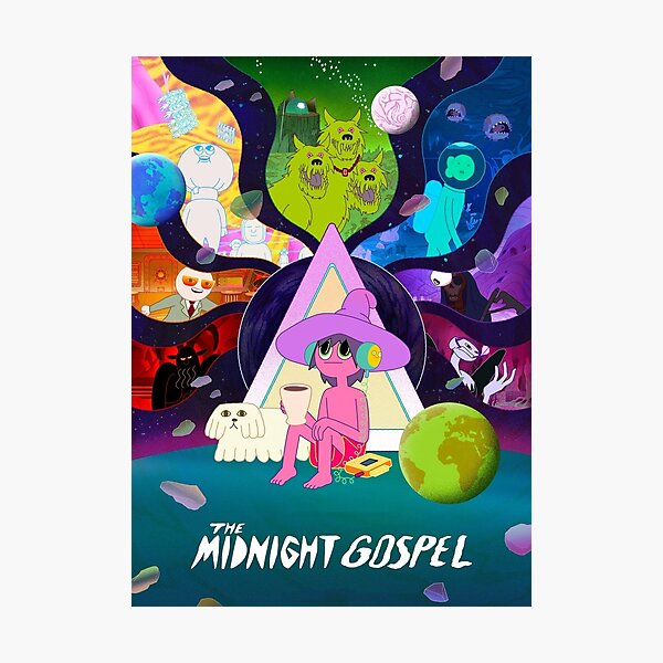 Midnight Gospel Photographic Print