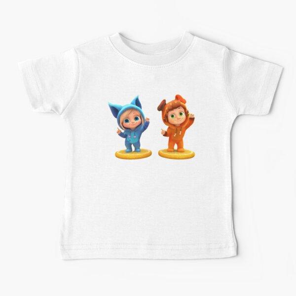 Ava y Dave canciones Camiseta para bebés