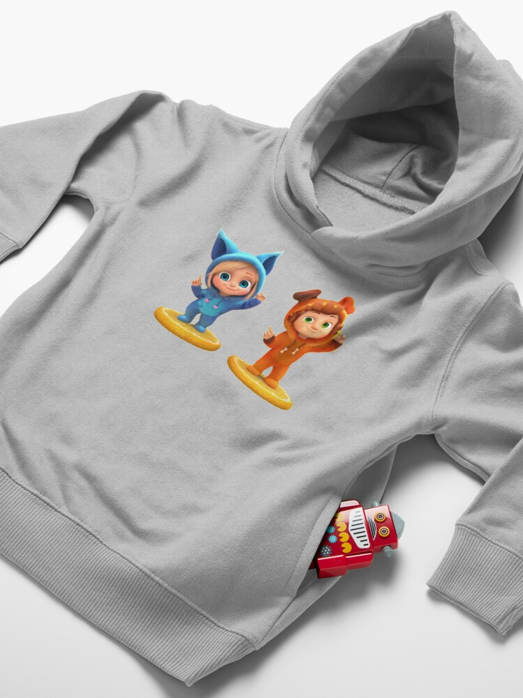 Alternate view of Ava and Dave songs Toddler Pullover Hoodie