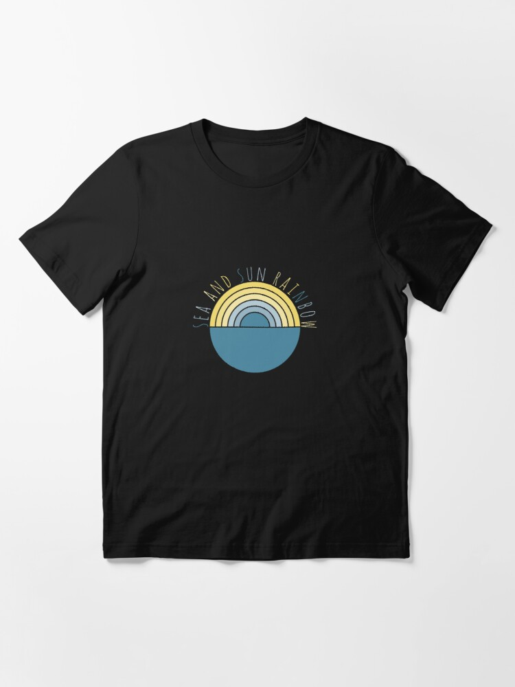 Alternate view of Sea and Sun Rainbow Essential T-Shirt