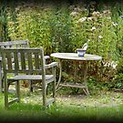Quiet place in the garden by Joyce Knorz