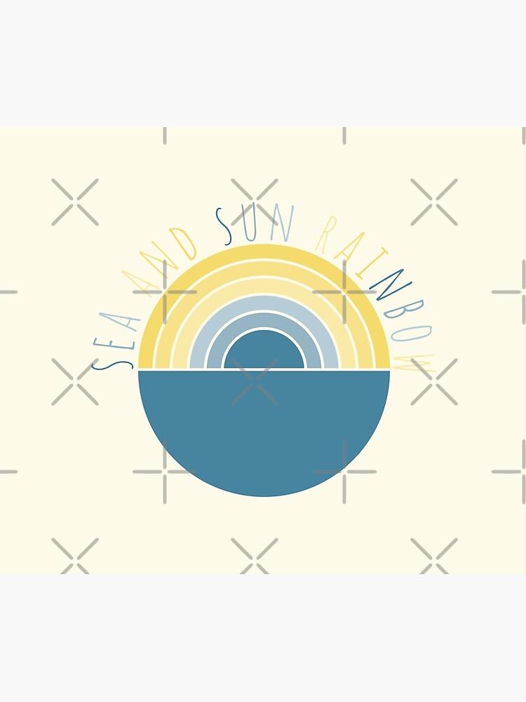 Sea and Sun Rainbow by PrintablesP