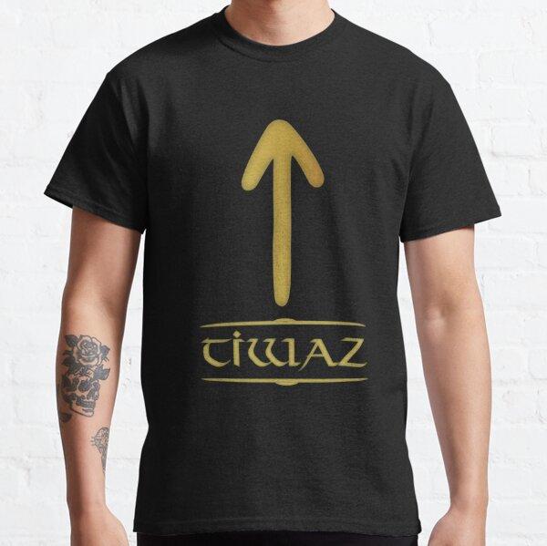 Tivaz - Rune / Älteres Futhark / Serie aus 24 Runen Classic T-Shirt