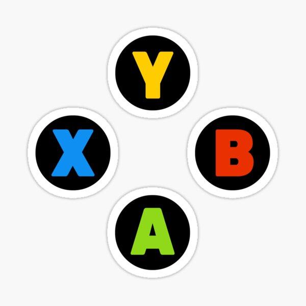Controller Buttons Sticker