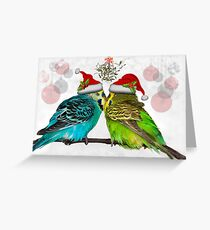 Christmas Cuddles Greeting Card