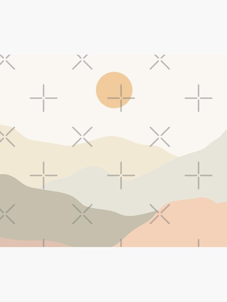 Minimalist Landscape Mountains by trajeado14