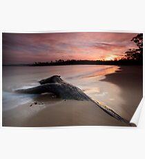 Randalls Bay Sunset #10 Poster