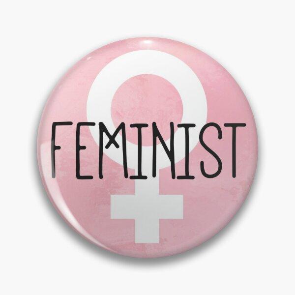 Feminist Symbol Pin