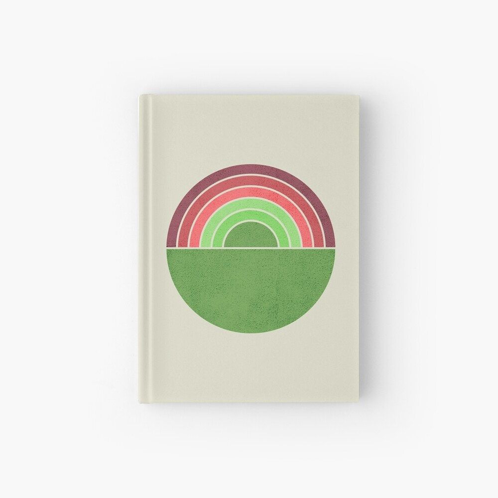 Spring Rainbow Hardcover Journal