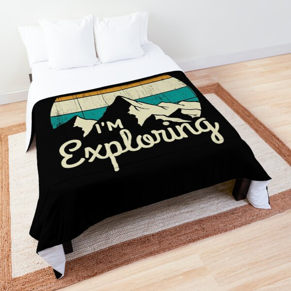 Mountains - Exploring  Comforter