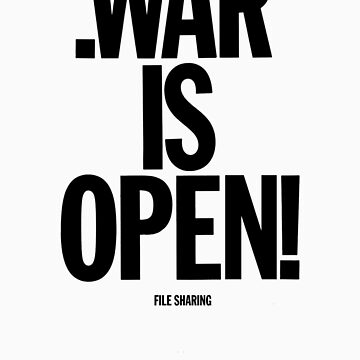 .war is open by thebeatter