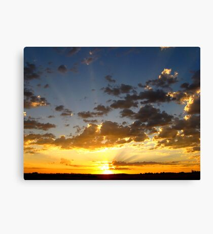 Let The Sun Rise and Shine~ Canvas Print