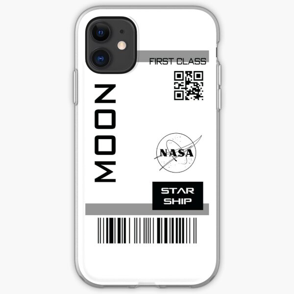 Best Seller -  Star ship ticket to Moon  iPhone Soft Case