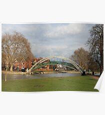 Bedford Riverside Poster