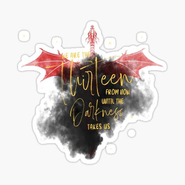 We are the Thirteen Sticker