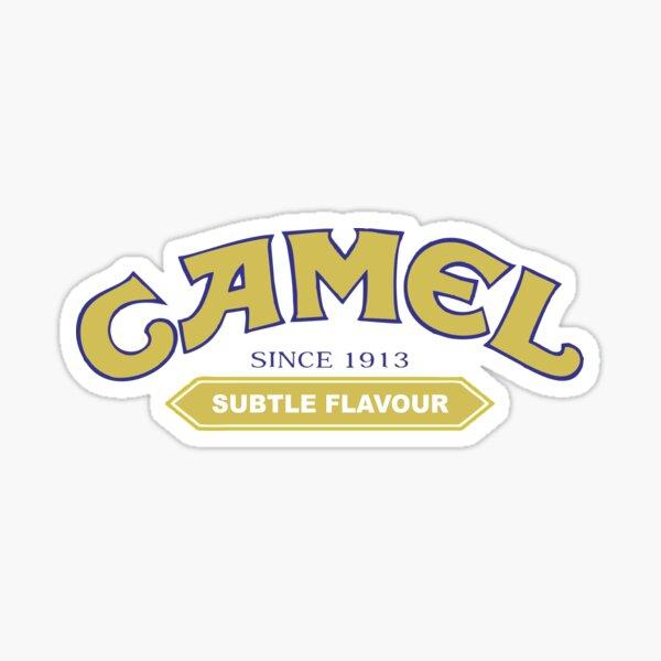 Cigarrillo de camello más vendido Pegatina