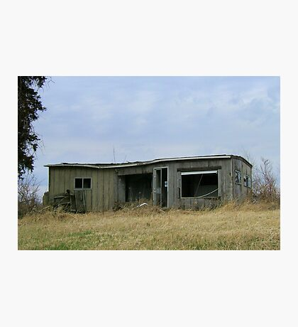 Shed...or Bed? Photographic Print
