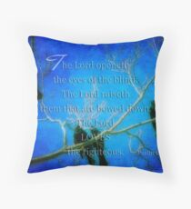 Lord loves the righteous Throw Pillow