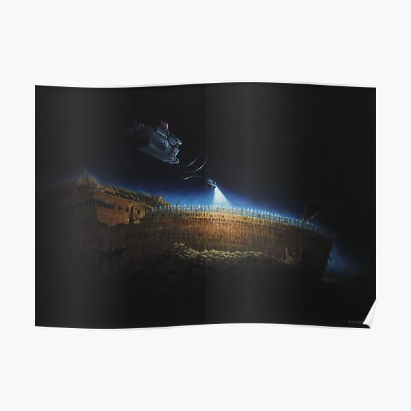 Titanic wreck save our souls Poster