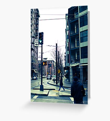 cityscaping Greeting Card