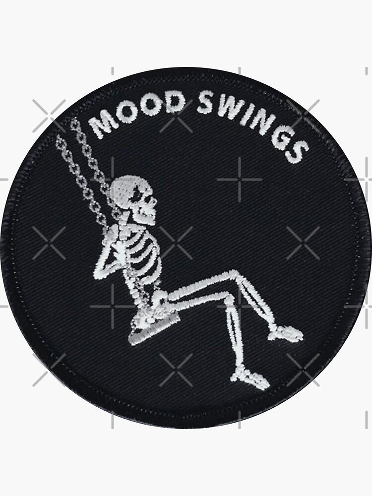 Mood Swings Skeleton Patch by designolo