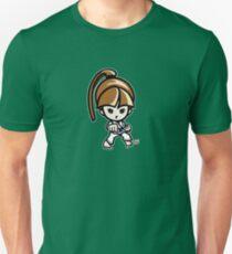 Martial Arts/Karate Girl - Front punch Unisex T-Shirt