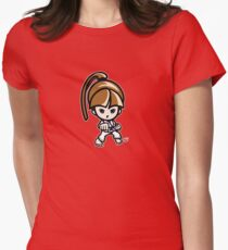 Martial Arts/Karate Girl - Front punch T-Shirt
