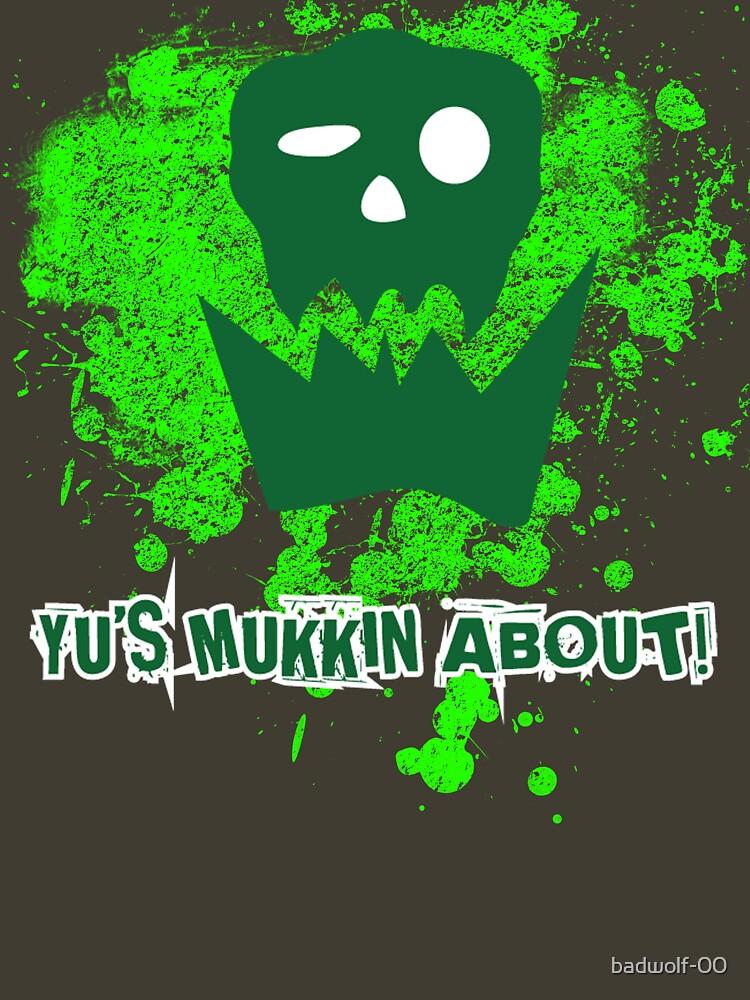 TShirtGifter presents: Yu's Mukkin About | Unisex T-Shirt