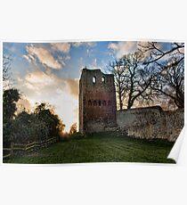 St Leonards Tower - Sundown Poster