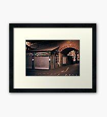 borough Market. Framed Print