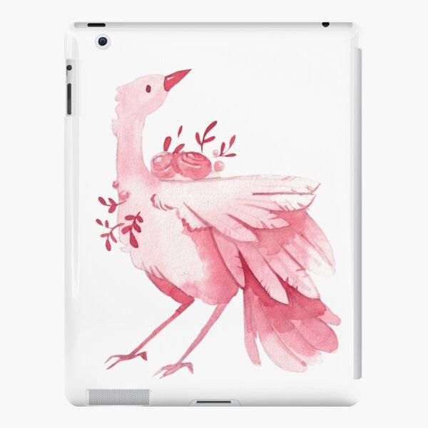 Elegant Watercolor Bird | Pink Fantasy iPad Snap Case