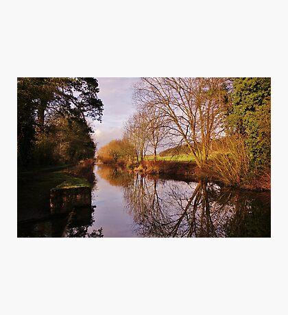 Chesterfield Canal Photographic Print